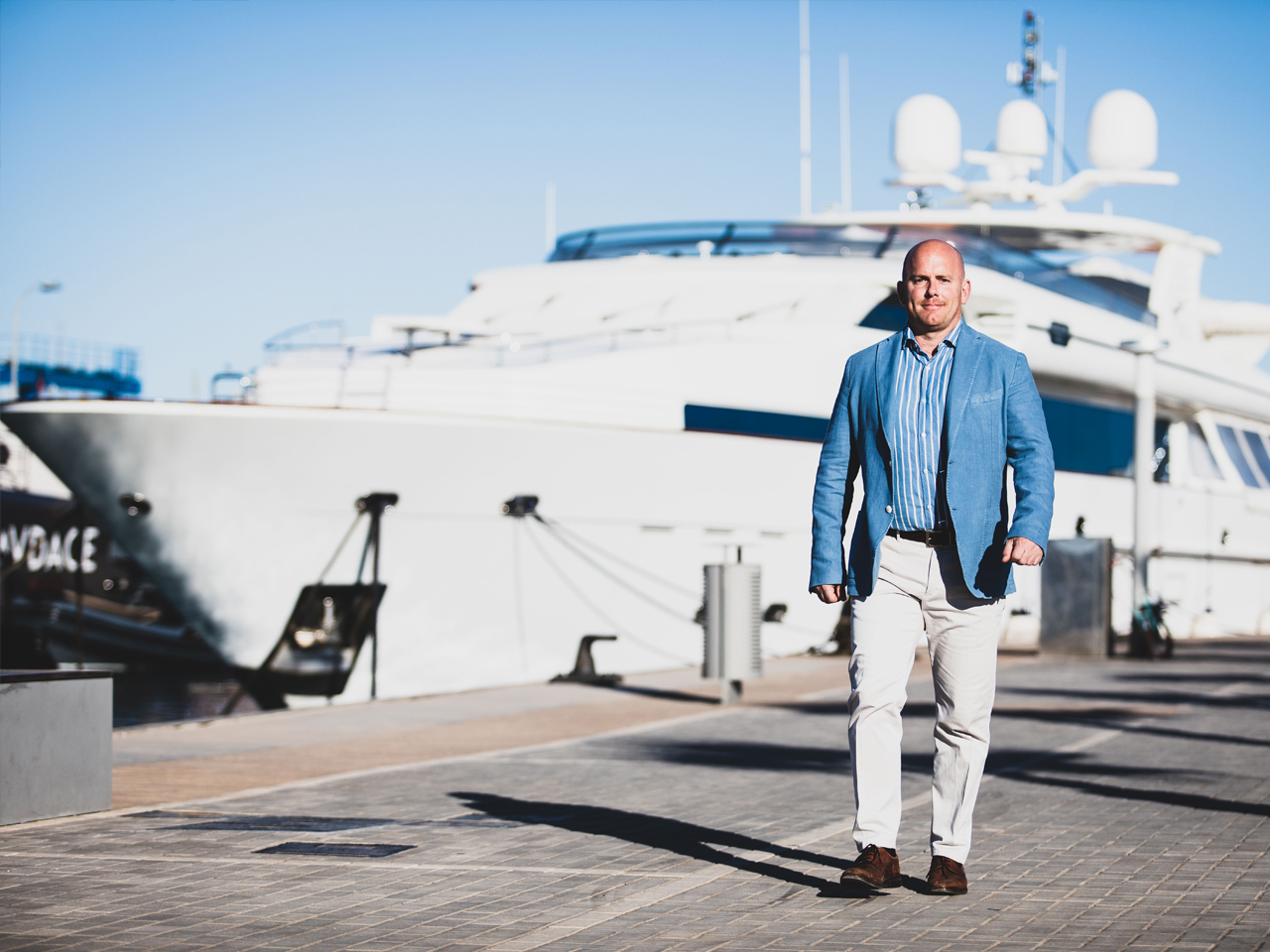 Superyacht Joe Buckle